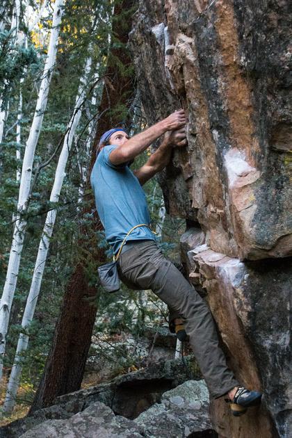 Nick Climbs