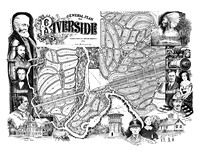 Map of Riverside (Pen and Ink)