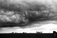 Storm Clouds and Silos #1
