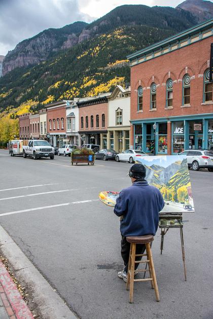 Painting Telluride