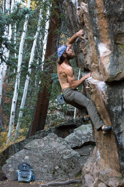Nick Climbs 2
