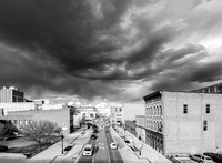 Clouds Over Washington Street